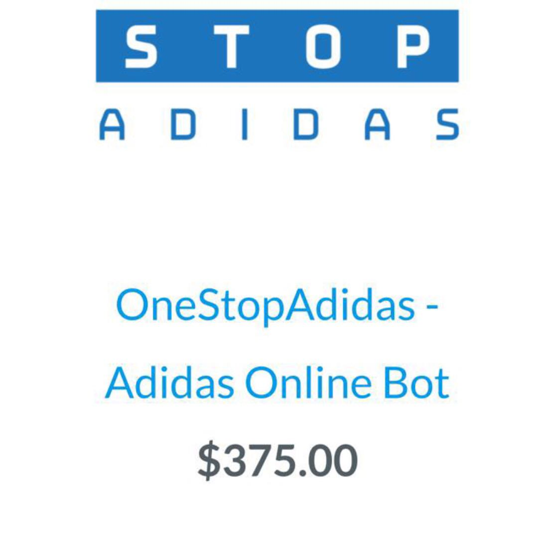 Bots Bot Yeezy Adidas One Stop For Copping 350 Men S Fashion Footwear On Carou