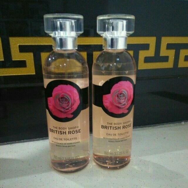 British rose body shop 100 ml edt