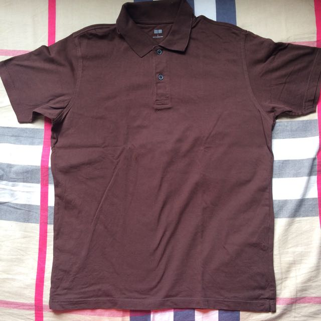 Brown Uniqlo Polo
