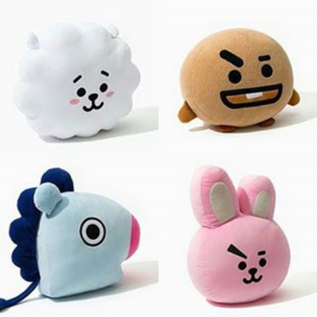 Listing All Cars >> BT21 Line × BTS Cushions, K-Wave on Carousell