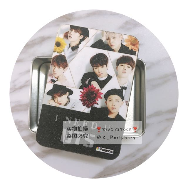 BTS Tin Box