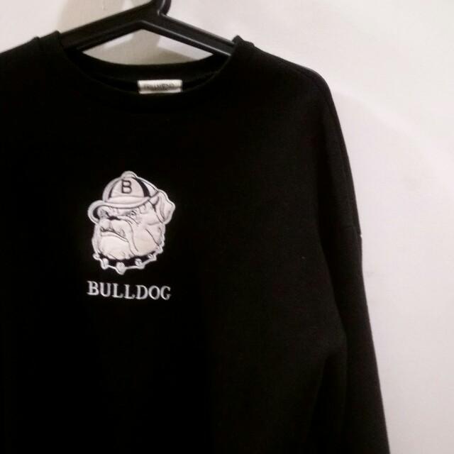 Bulldog韓製舖棉大學T
