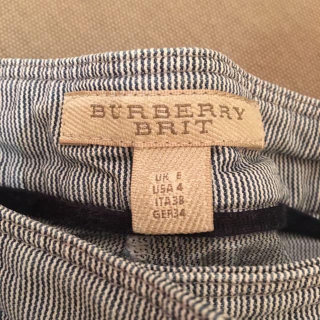 BURBERRY 高腰褲✨八成新
