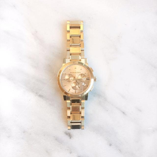 Burberry Gold Watch BU9753