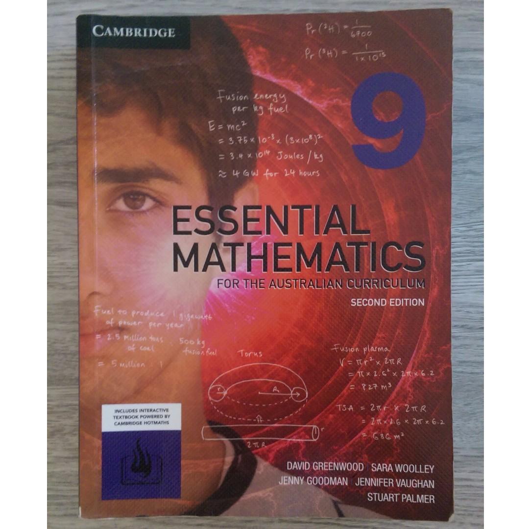 Cambridge Essential Mathematics 9 Textbook