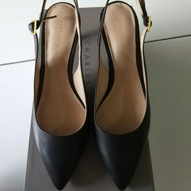 Charles n Keith Shoes Heel