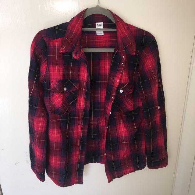 Checkered Shirt size 12