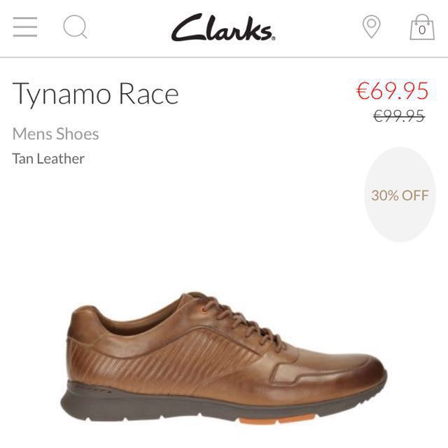 Tiranía doble Cuaderno  Clarks Tynamo Race Mens Casual Hybrid Shoes EUR 43 / UK 9, Men's Fashion,  Footwear on Carousell