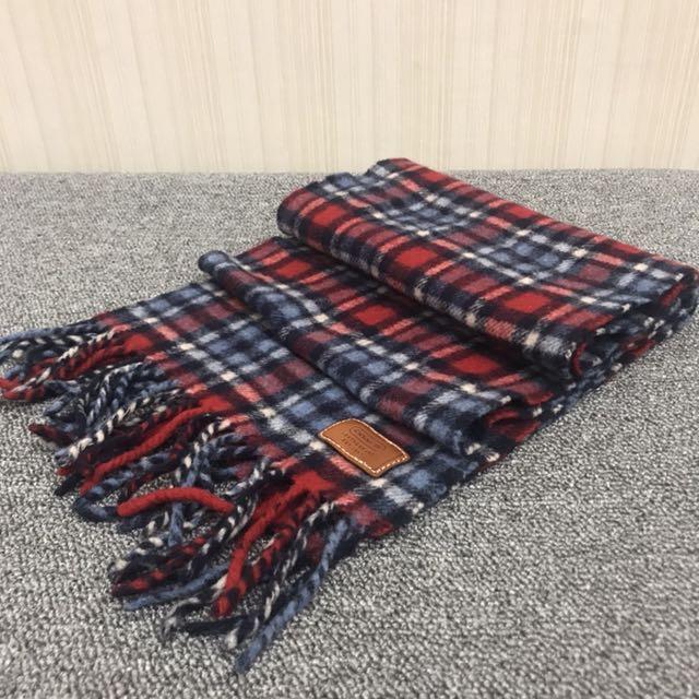 Coach cashmere 圍巾