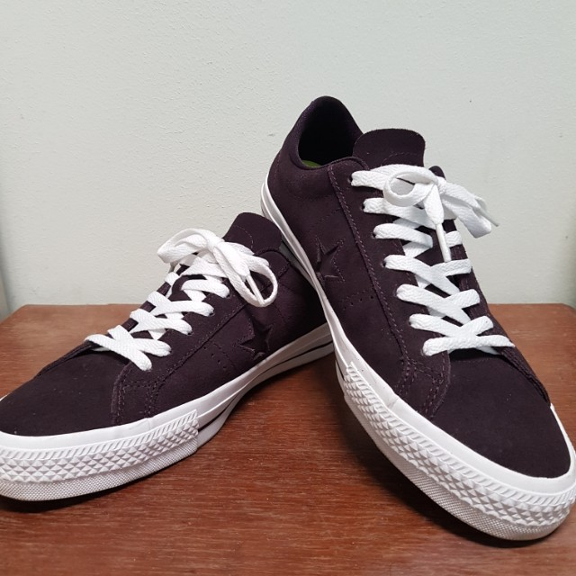 db000dee095728 ... discount converse one star pro black cherry mens fashion footwear on  carousell 3663d 62d28