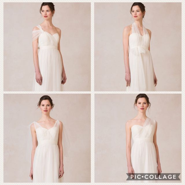0ffa875d288 Convertible Wedding Dress Evening Gown Ivory - Jenny Yoo Annabelle Dress