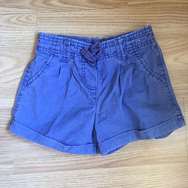 cotton on blue short pants