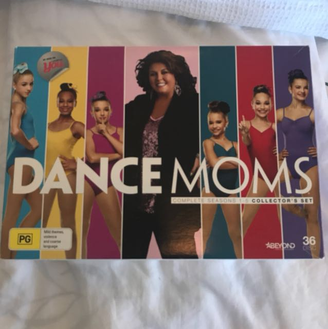 Dance Moms Season 1-5 dvd set