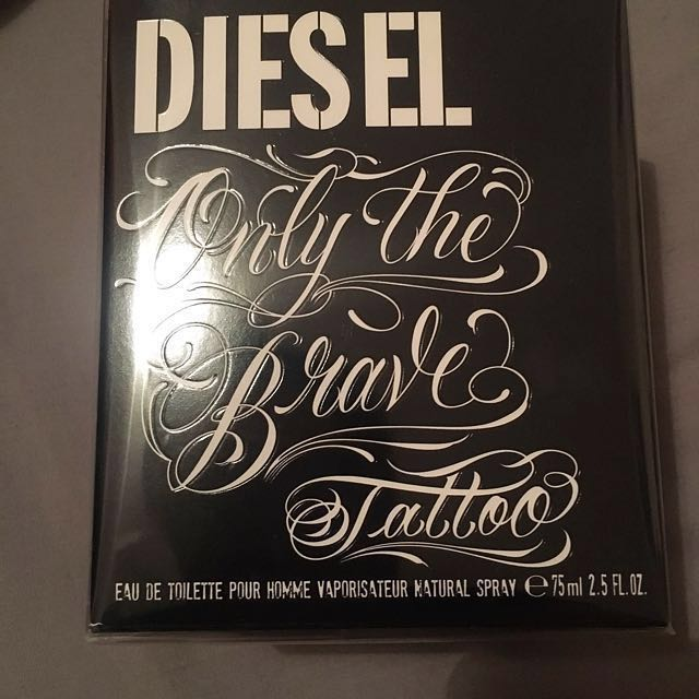 Diesel - Only the brave tattoo perfume