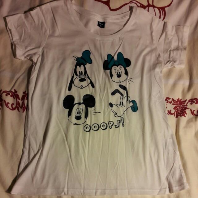 Disney 經典卡通人物上衣 L號
