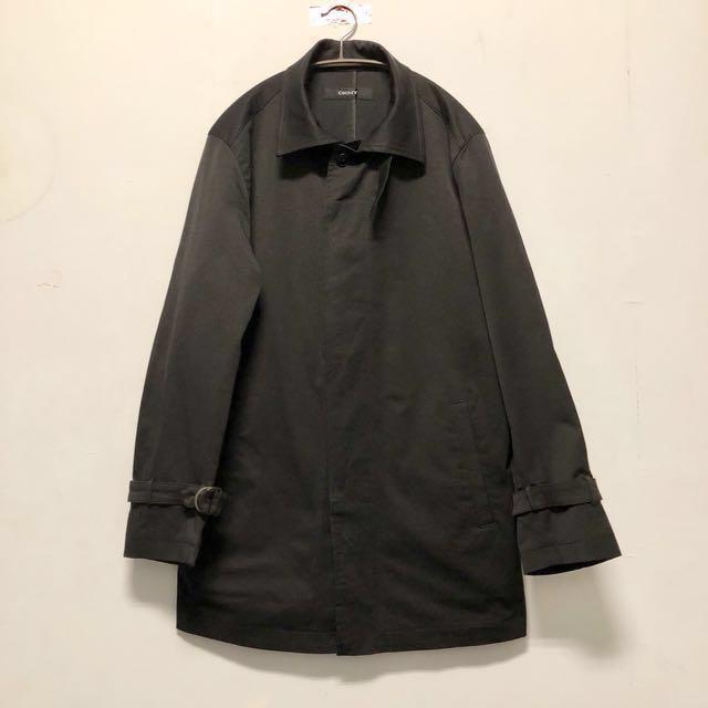 DKNY Coat 歐美古著風衣 長袖大衣 黑 11月