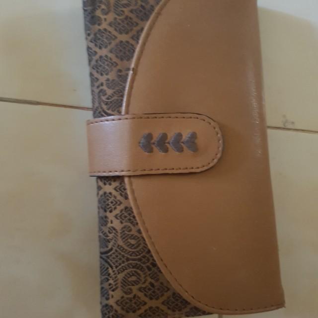 Dompet wallet woman coklat