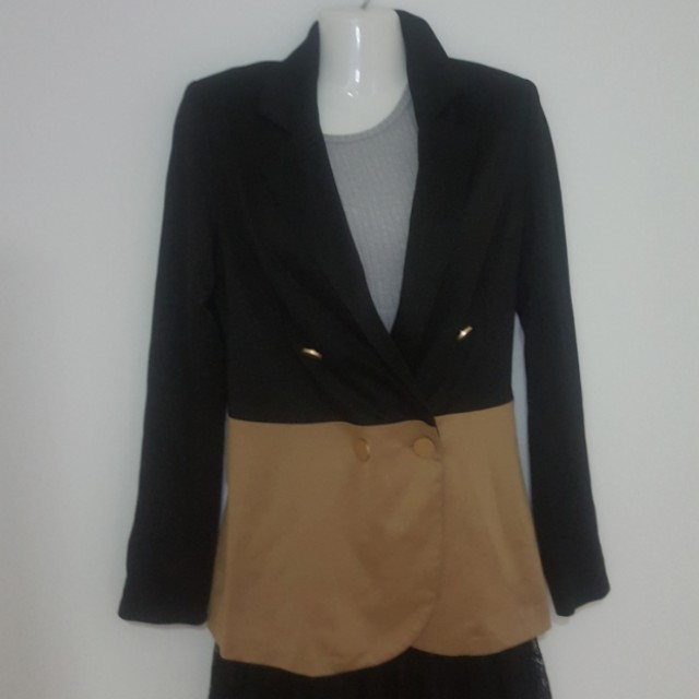 Dressing Paula two tone Blazer