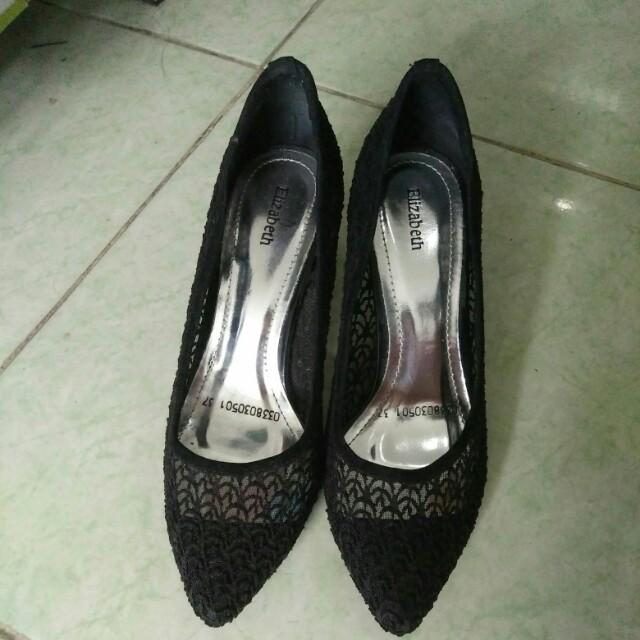 Elizabeth heels brukat