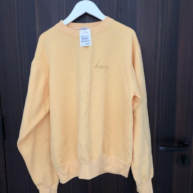 Fcfs Brandy Melville Bnwt Honey Sweater Womens Fashion Clothes