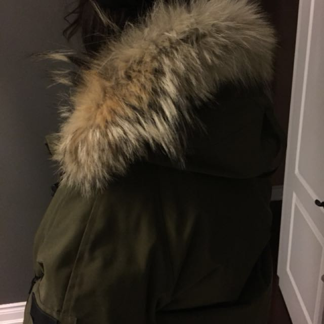 Female Canada goose jacket for sale