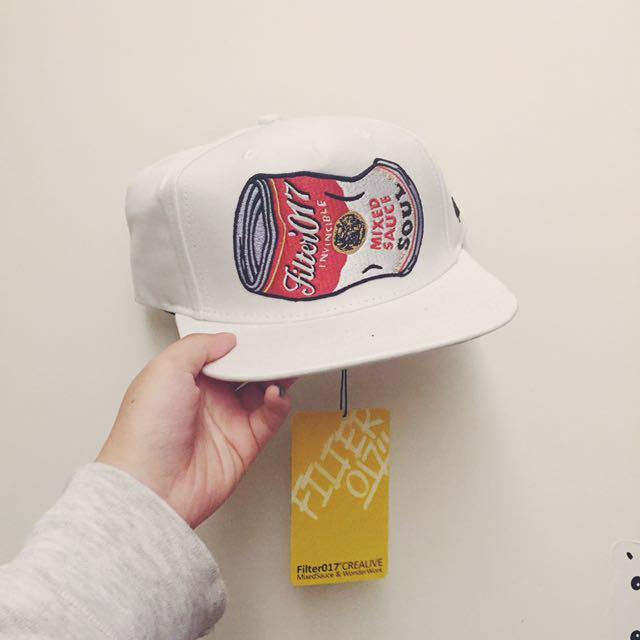 Fliter017湯罐工作帽(白)