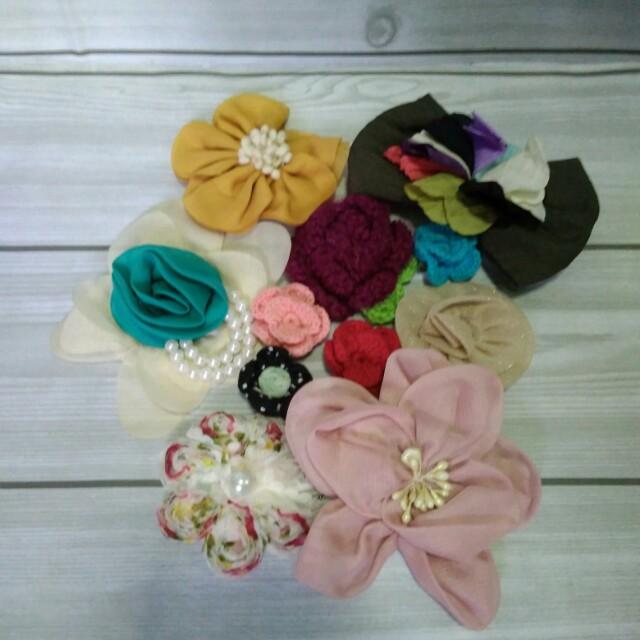 Flower brooches - Bros bunga