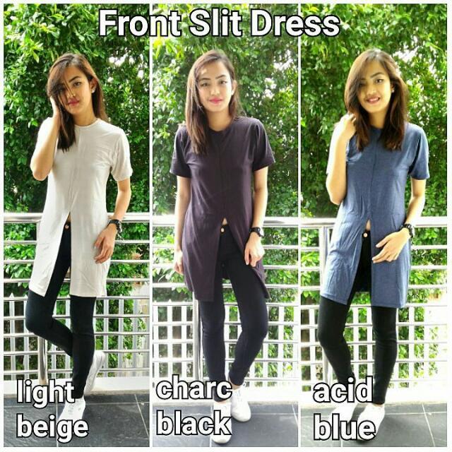 Front Slit Shirt