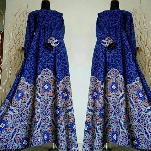 Gamis Istanbul Blue