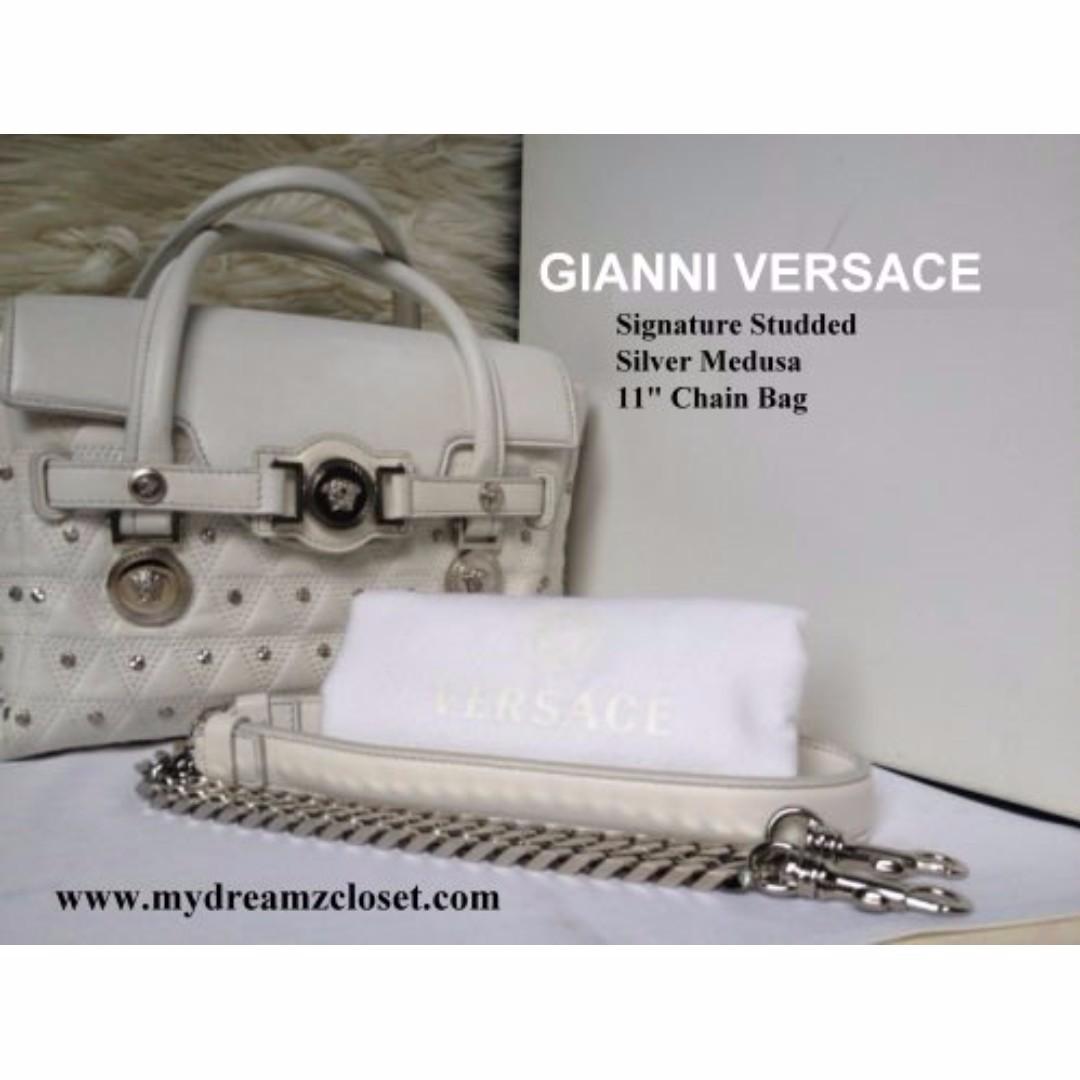 Gianni Versace Bag - Authentic Gianni Versace Bag ff98ba8618dbb