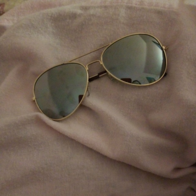 Gold Reflective Glasses 😎