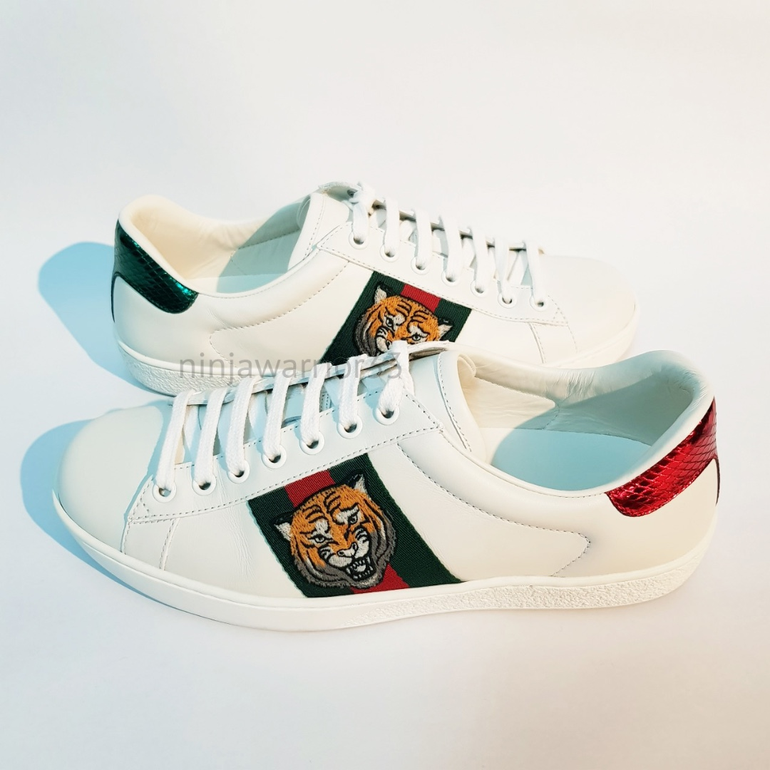 4934d17b499 GUCCI Ace Mens embroidered sneakers