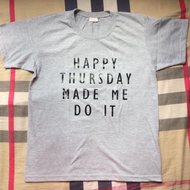 Happy Thursday Themed Shirt