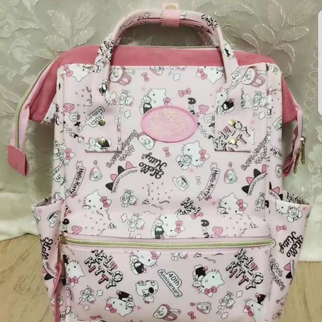 Hello Kitty Design Anello Design Backpack Bag 4 Different Designs