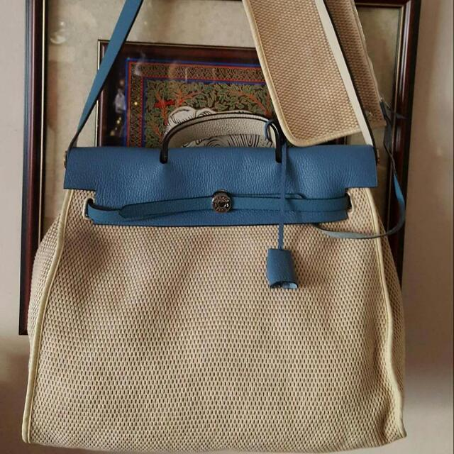 Hermes Herbag w/pouch