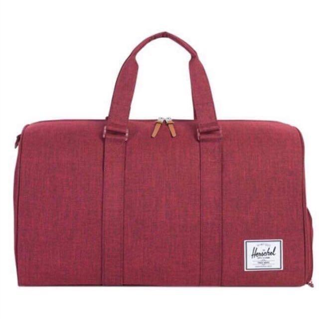 Herschel Novel Duffle Bag - Winetasting Crosshatch