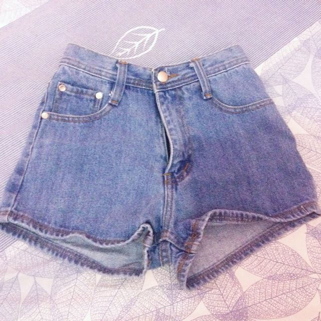 Highwaist Hotpants Jeans