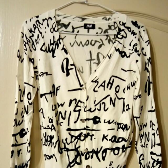 H&M 圖鴨外套