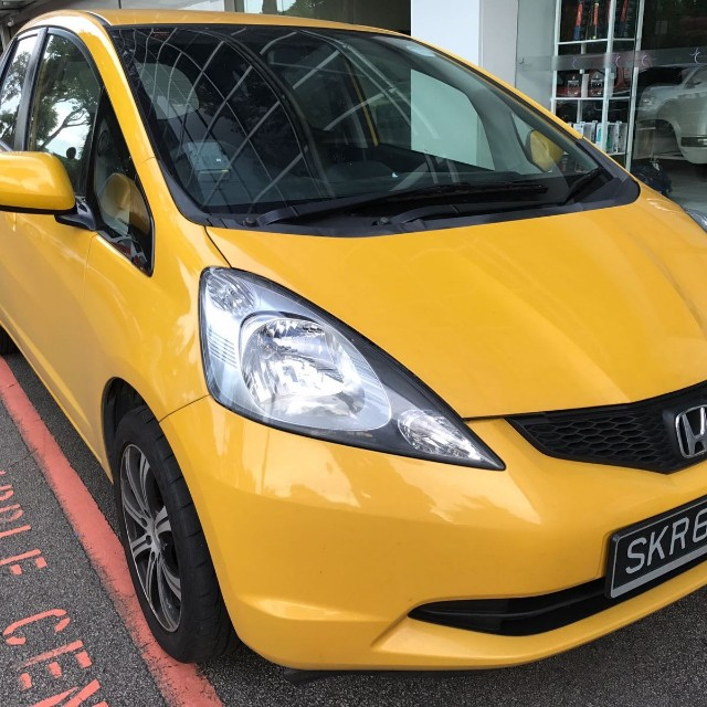 Honda Fit For Uber And Grab Cars Vehicle Rentals On Carousell