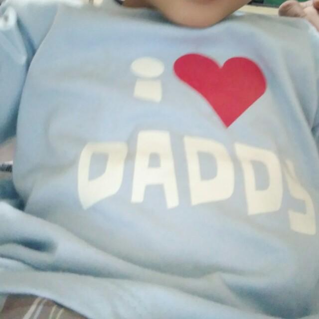 I love daddy statement shirt