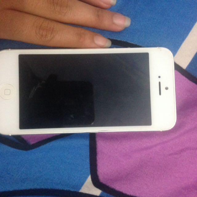 Iphone 5 16gb white NOMINUS