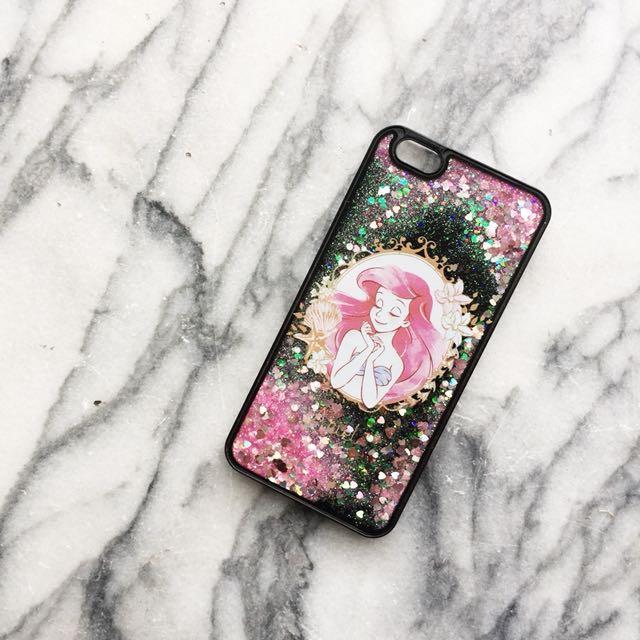 IPhone 6 Plus 迪士尼小美人魚流沙手機殼