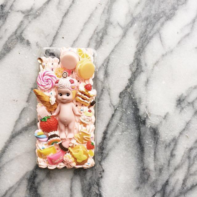 iPhone 6 Plus 邱比特愛神Q比奶油手機殼