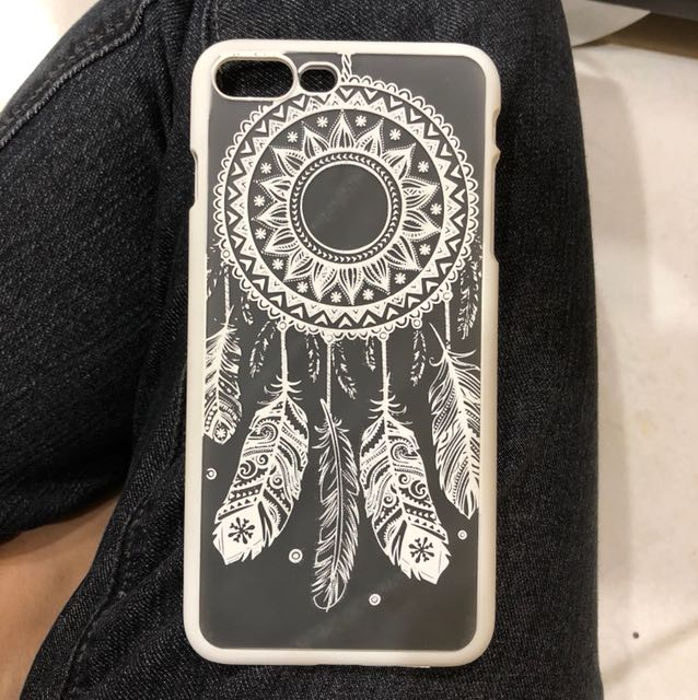 IPhone 7+ / 8+ Dreamcatcher Henna Mandala Casing