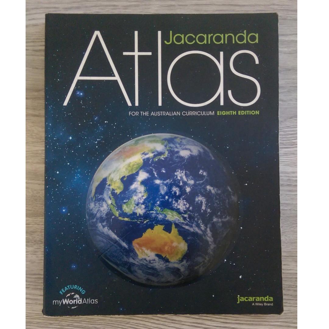 Jacaranda Atlas Eight Edition