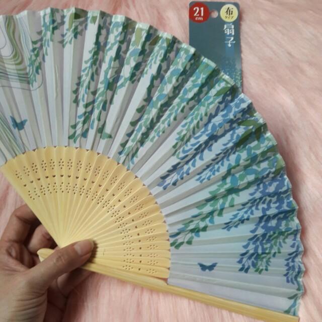Japanese Folding Fan(Repriced)