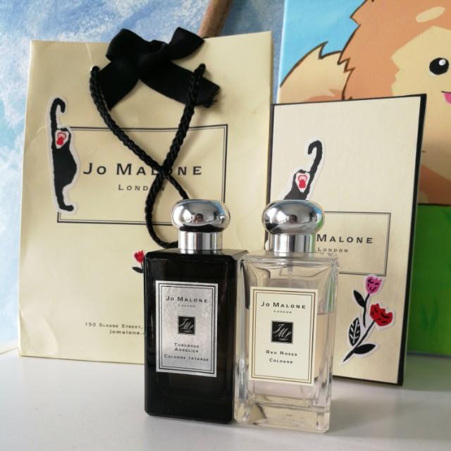 Jo Malone: Tuberose Angelica & Red Roses 100ml bottle