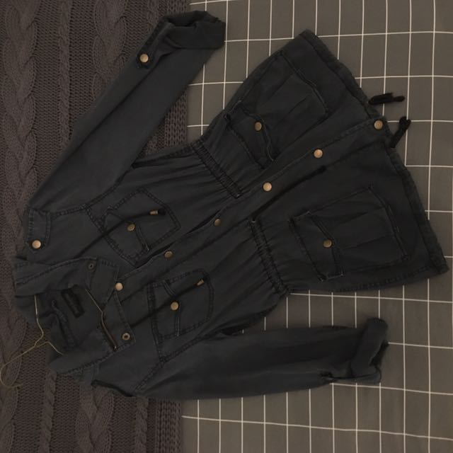 JUST JEANS Dark Navy Combat Jacket