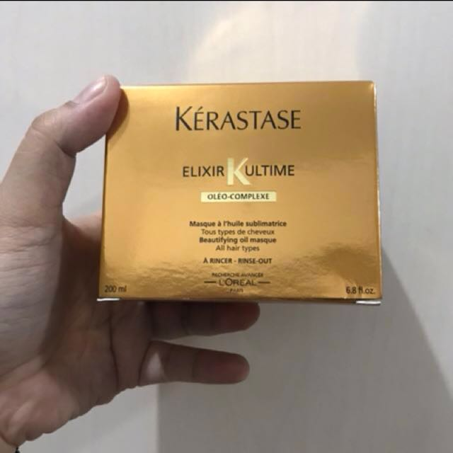 Kerastase Elixir Ultime Oleo Complexe Beautifying Oil Masque (Hair Mask)