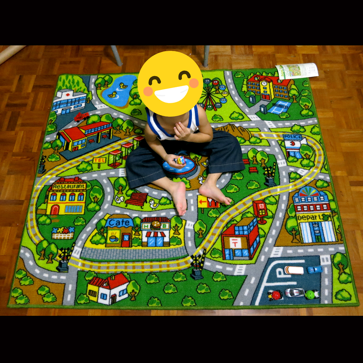 Kids Play Rug Street Map From Japan On Carousell